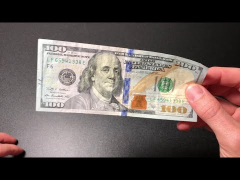 How To Spot A Fake $100 Dollar Bill