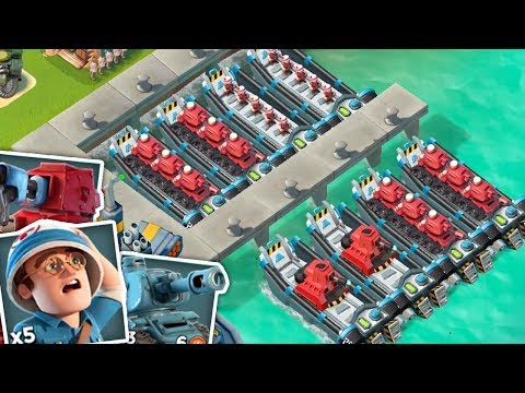 Attacking players with their own troops in Boom Beach!