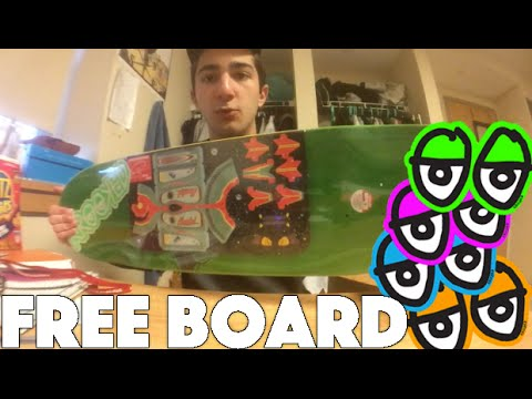 How to Get a Free Krooked Deck | Unboxing