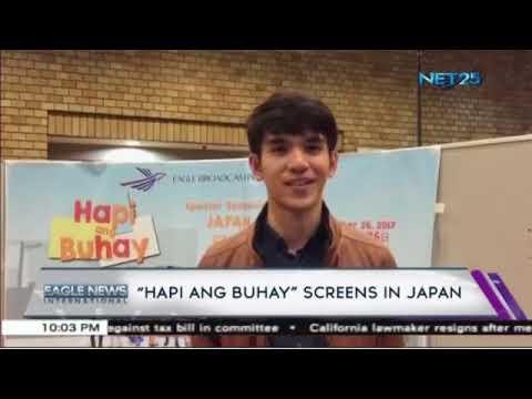 'Hapi Ang Buhay' screens in Japan
