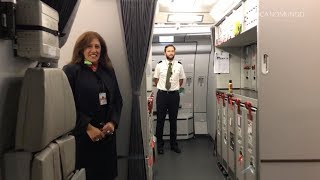 Top 10 Airlines - TAP PORTUGAL A330-200 NEW BUSINESS CLASS (with cockpit landing)