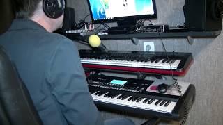 Весна пришла кавер версия на синтезаторе KORG PA 300