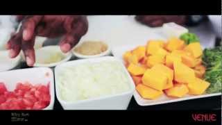 Caribbean Cooking With Chef Irie: Pumpkin Rum Soup