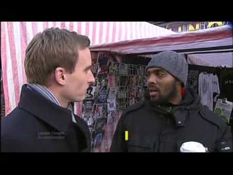 London 2011 Census: 'White British' the minority in London (ITV1 London Coverage)