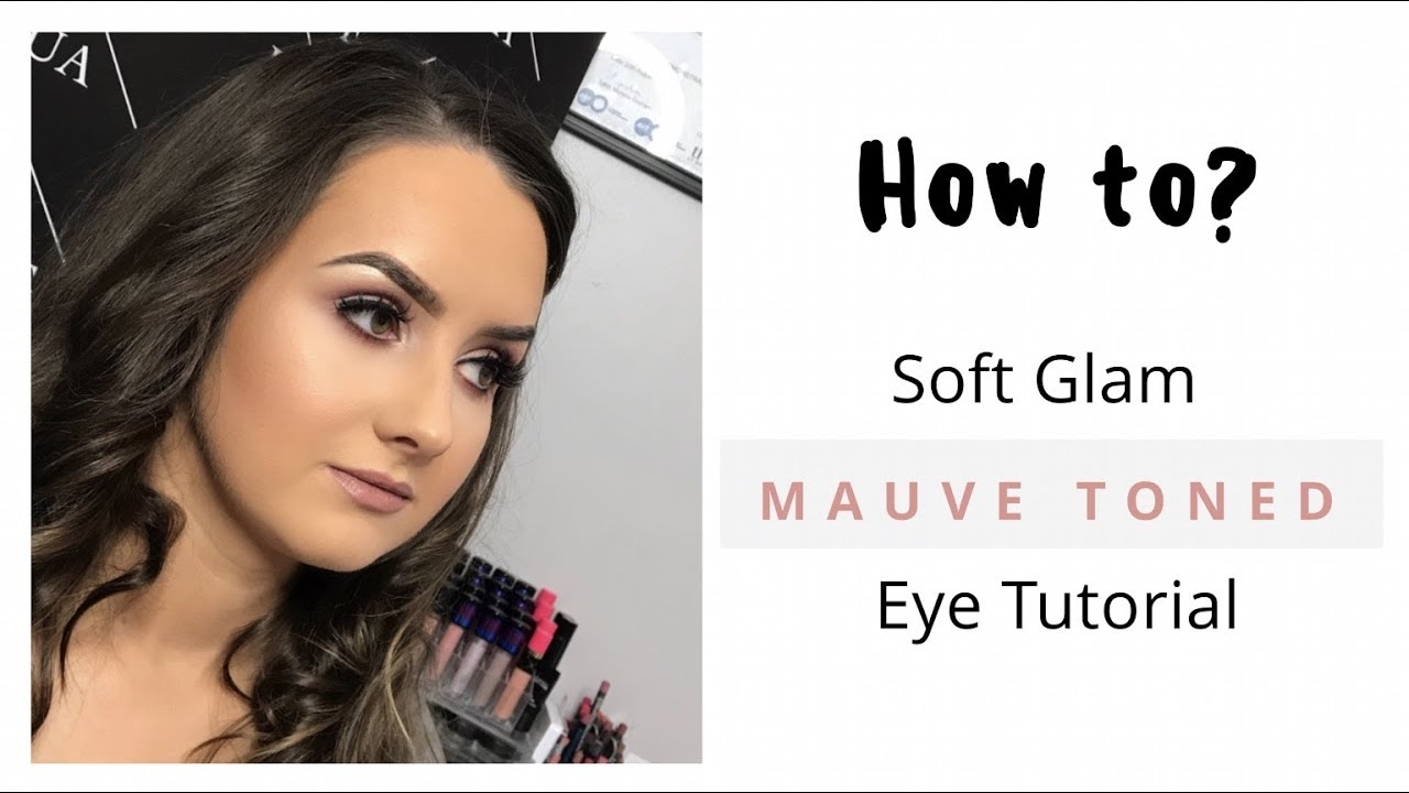 dd75523f8a0 Easy Soft Glam Mauve Toned Eye Makeup Tutorial - YouTube
