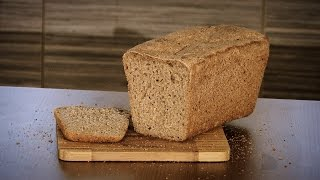 Приготовление бездрожжевого пшеничного хлеба на ржаной закваске.