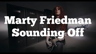 Marty Friedman Sounding Off with Rick Beato