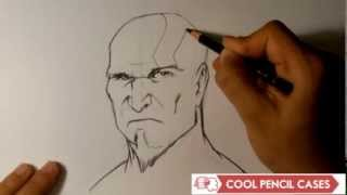 How to Draw Kratos from God of War - Easy Things to Draw