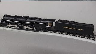 Review: MTH HO Allegheny Steam Locomotive H8 2-6-6-6