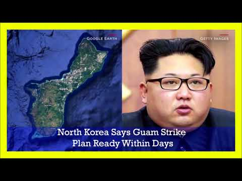 Guam is not out of reach from North Korea, Kim Jong Un After 2 missile launch over Japan!!!