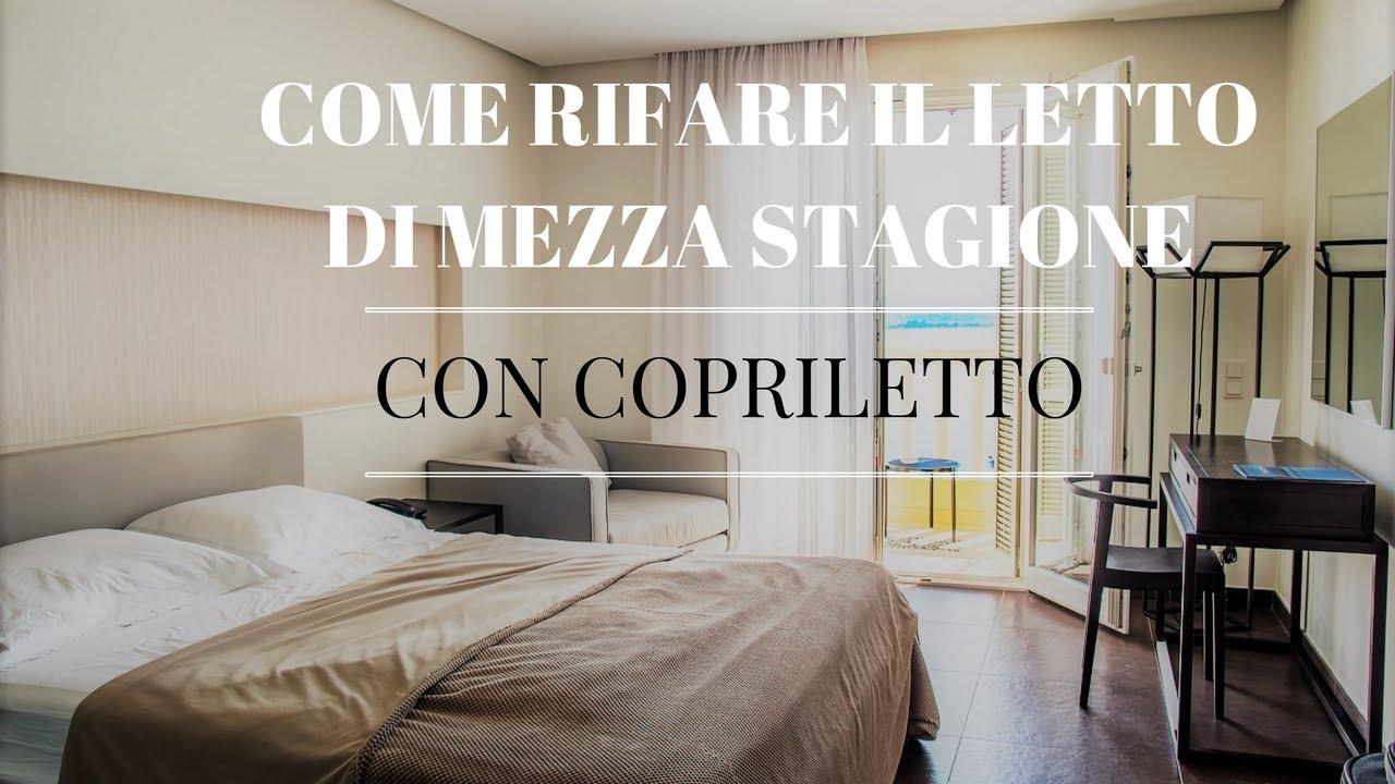 Come Rifare Il Letto Matrimoniale.How To Make Half Season Bed With Bedspread