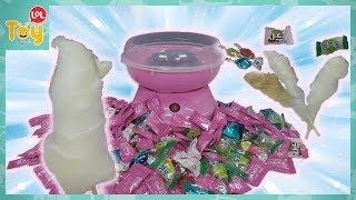 사탕으로 솜사탕 만들기 몽글몽글 구름 캔디 과자 집에서…