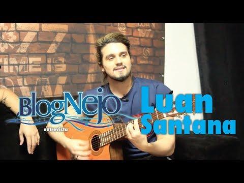 Blognejo Entrevista - Luan Santana