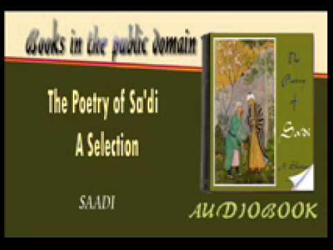 The Poetry of Sa'di - A Selection - SAADI Audiobook