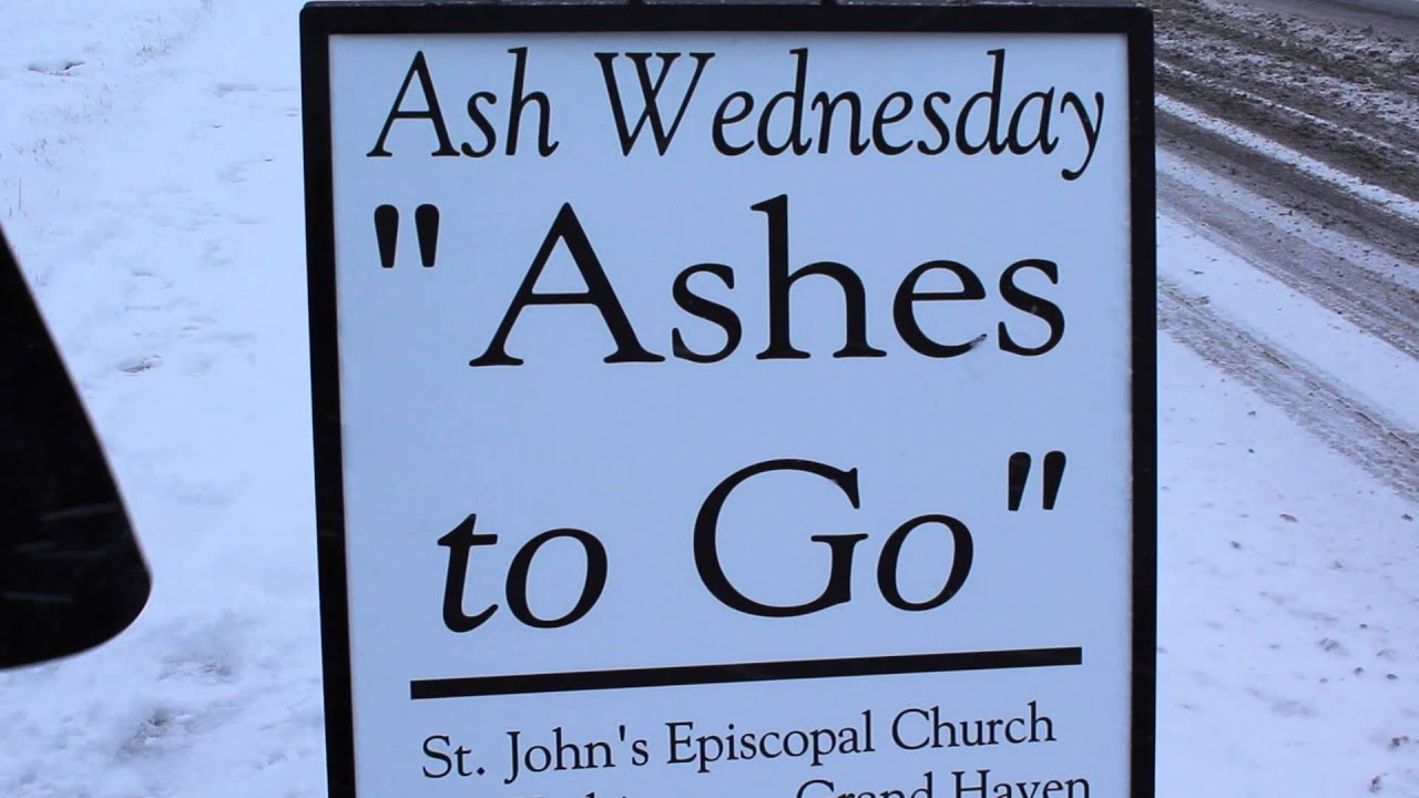 Rev. Cramer offers 'Ashes to Go' again