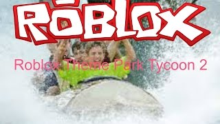 Theme Park Tycoon 2 Roblox; Making A Log Flume