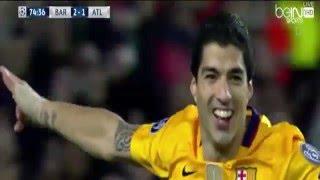 اهداف مباراة برشلونة واتلتيكو مدريد 2-1 الاهداف كاملة ( دوري الابطال 2016 ) HD