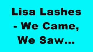 Lisa Lashes - We Came, We Saw...(Sundissential EP)