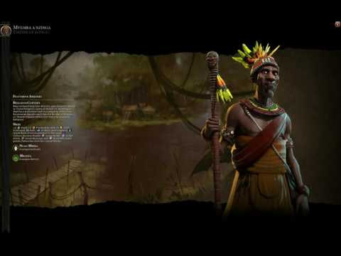 civ6 Kongo (Mvemba a nzinga) Theme music -Ancient era