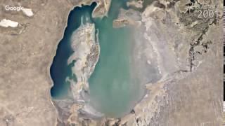 Таймлапс  Аральское море 1984 2016 гг    Timelapse Aral sea(Таймлапс. Аральское море 1984-2016 гг. | Timelapse Aral sea Подпишись на канал! Subscribe to the channel!, 2016-11-30T13:23:33.000Z)