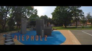 Diepholz | Particular Playgrounds [2015](Eine kleine Übersicht zum Parkour Park in Diepholz. Der Clip ist bestandteil des Particular-Playground Projektes. Infos zum Park findet ihr auf: ..., 2015-09-02T07:49:21.000Z)