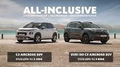 Citroen SUV-mallisto mainos 2020
