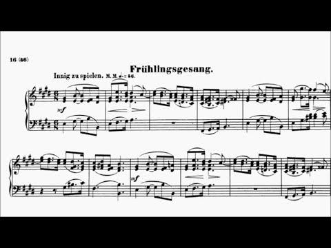 Con Brio Exam (CBE) Grade 5 Schumann Op.68 No.15 Spring Song Sheet Music