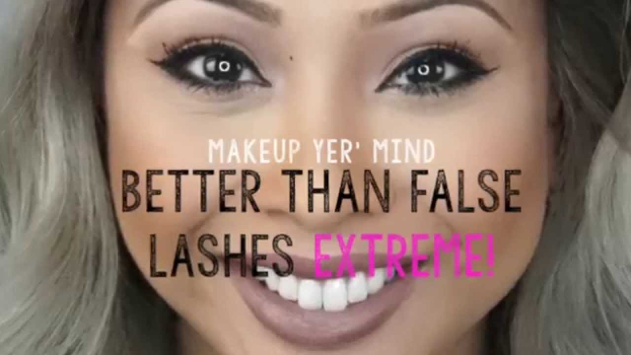 Too Faced - Better Than False Lashes EXTREME! review - YouTube