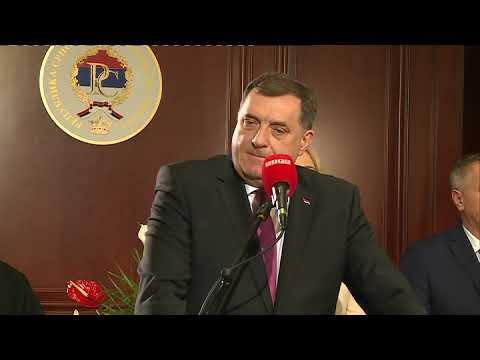 Dodik: Srpska zemlja mira, dobrih ljudi i slobode