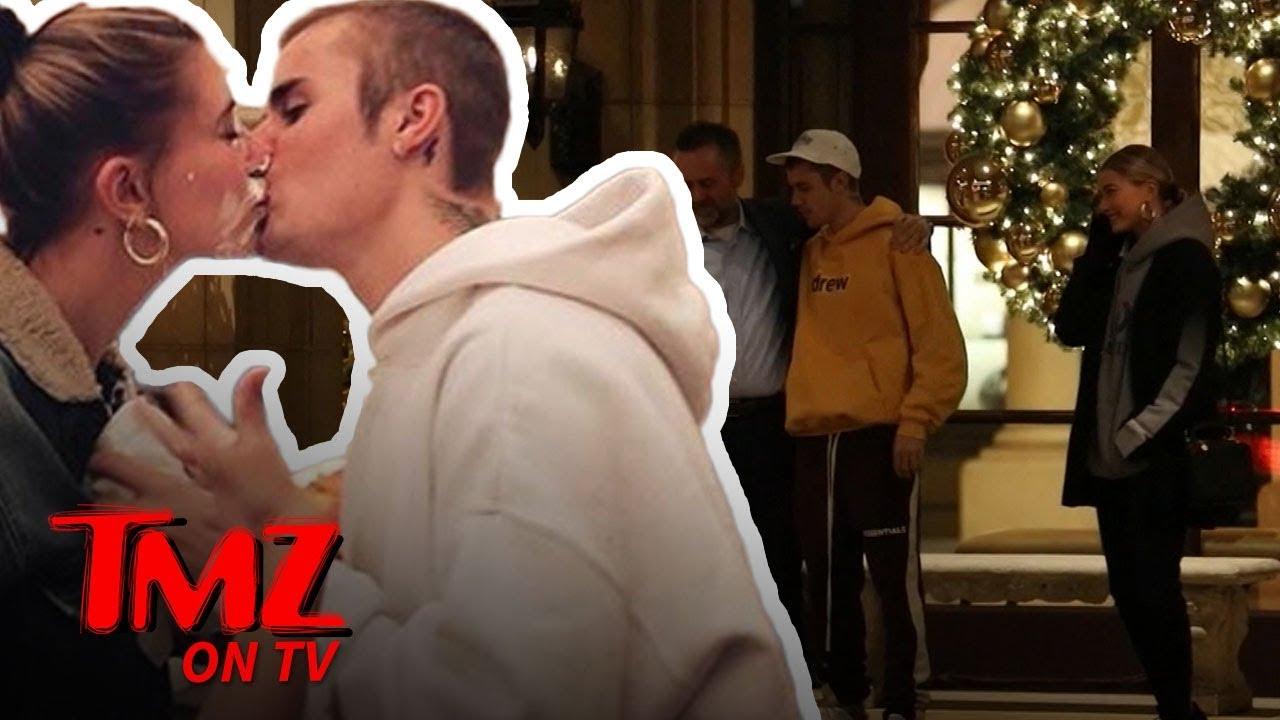 Justin Bieber Serenades Hailey and Random Guy with 'Sexual Healing' | TMZ TV