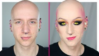 Cyber Witch Drag Transformation (ft. Luxeria) | Roly