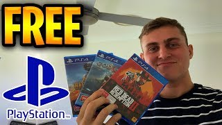 FREE PS4 Games 🤑 How to get FREE PS4 Games in 2019! Free PS4 Codes!