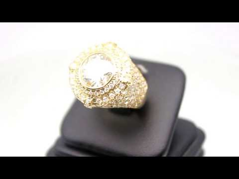 mens-14k-solid-yellow-gold-diamond-pinky-ring-5.63-ctw