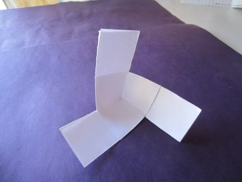 How To Make A Rotating Paper Fan Origami Doovi