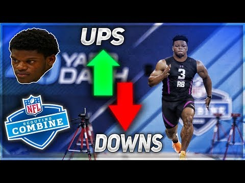 Saquon Barkley is The Best RB Prospect Ever | Ups & Downs For 2018 NFL Combine | Part 1
