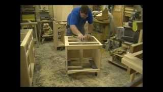 Sanding Cabinets - Custom Bathroom Vanities - Part 7 Of 11