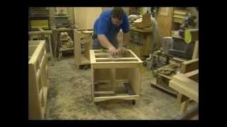 Sanding Cabinets - Custom Bathroom Vanities - Part 7 Of 11
