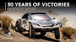 30 years of victories - Peugeot
