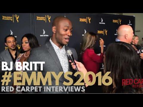 BJ Britt unReal ed at 4th Annual Dynamic & Diverse Celebration Emmys SAGAFTRA