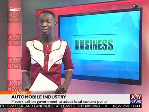 Automobile Industry - Joy Business Today (25-8-17)