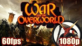 War For The Overworld Gameplay - Dungeon Keeper Clone / Successor Strategy PC Game 1080p 60fps