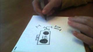 how to draw a boombox character