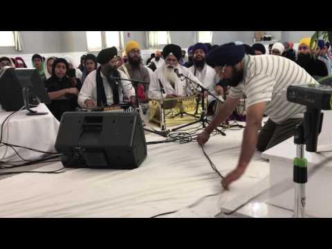 Calgary Keertan Samagam 2017 - Master Gurbachan Singh Ji - Thursday Evening, 30/06/2017