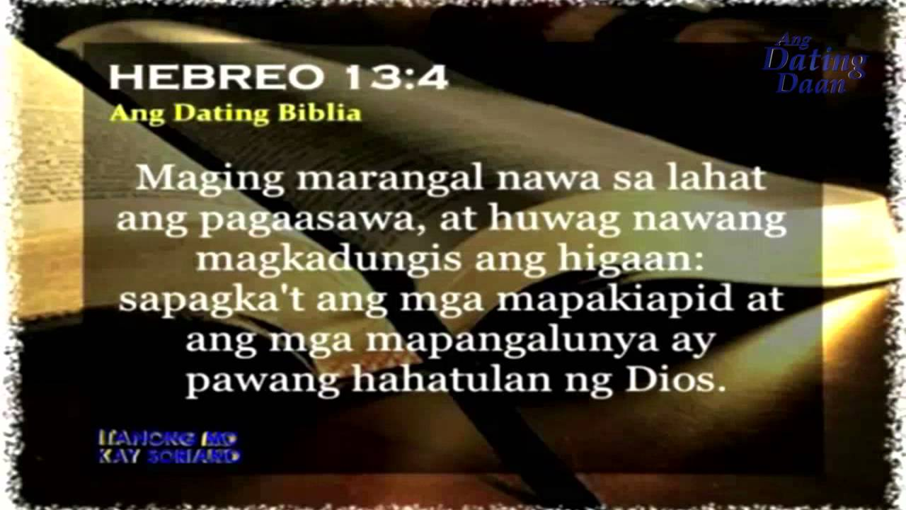 Ang dating daan bible exposition latest immigration 5