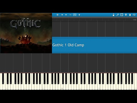 Gothic Old Camp theme