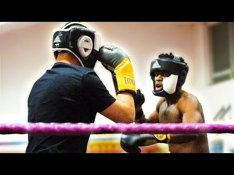 KSI VS AnEsonGib - Boxing Match *UNSEEN FOOTAGE*