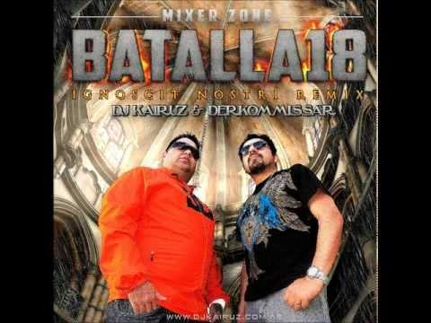 Batalla de los Dj´s 18. Dj Kairuz & Derko Nene Malo - Octubre 2012 - Enganchados