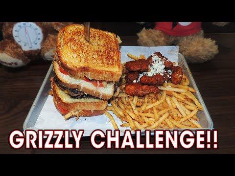 Undefeated Gourmet Burger Sandwich Challenge!!