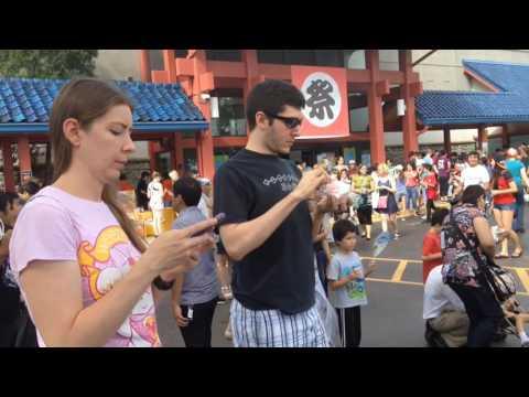 Japan Obon Matsuri In Chicago. August 13, 2016