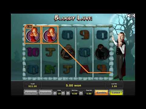 Игровой автомат BLOODY LOVE играть бесплатно и без регистрации онлайн